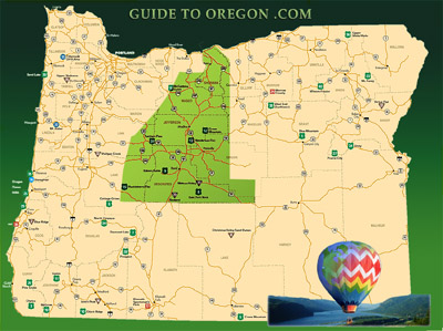 guide to oregon central region