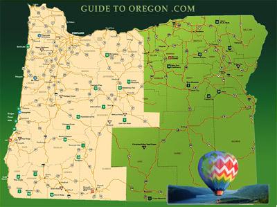 Eastern Oregon Map The Full Wiki