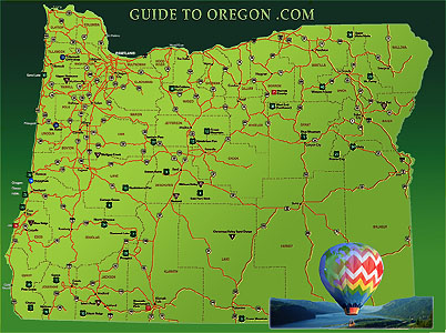 Map Of Eastern Oregon Cities Oregon Map - Map oregon cities