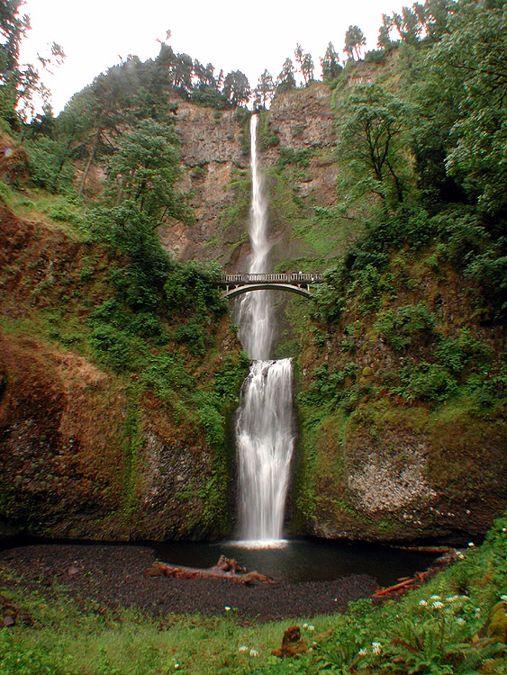 Oregon Waterfalls - Oregon waterfalls map